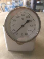 Bimetall-Rauchgasthermometer 300 mm
