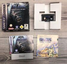*** King Kong *** GBA Game Boy Advance, SP + DS Lite *** Komplett mit OVP ***