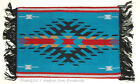 "Woven Placemat Table Mat Native American Geometric Southwestern 3x19"" design #2B"