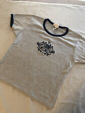 Elephant T-shirt, Discovery Channel, Grey, Sparkles, Vintage, India, Decorated M
