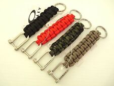 NEW OAKLEY PARACORD KEY CHAIN KEYCHAIN LANYARD Military Strong 99350