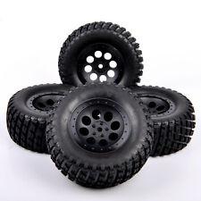 US 4X RC 1:10 Short Course Truck Tires&Wheel Hub 12mm Hex For TRAXXAS SLASH Car