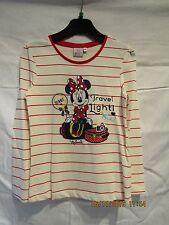 NEW DISNEY LONG SLEEVE TOP TRAVEL LIGHT MINNIE MOUSE  AGE 8.
