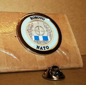 Kosovo Nato Veteran lapel pin badge .