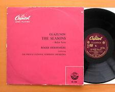 CTL 7018 Glazunov The Seasons Ballet Suite Roger Desormiere Capitol Records LP