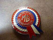 MG BMC Rosette Smalto Chrome griglia Badge MGA MGB MGC V8 Z Y METRO 1100 1300