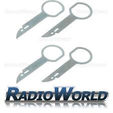 VOLKSWAGEN DOPPIO DIN PC5-132 x2 Cd Auto Radio Stereo Rimozione Rilascio Chiavi