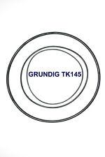 SET BELTS GRUNDIG TK145 REEL TO REEL EXTRA STRONG NEW FACTORY FRESH TK 145