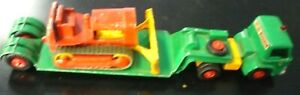 Lesney Matchbox King K-17 Ford Tractor, Loader & Case Bulldozer - Taylor Woodrow