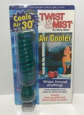 Twist & Mist Air Cooler By Misty Mate Green Wraps Around Anything