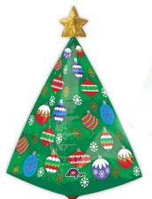 Sapin de Noël Grand Ultra Forme Noël Ballon Décoration pour Fête
