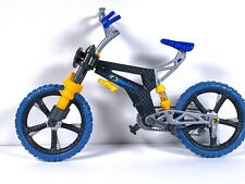 """Mattel Max Steel 1/6 Scale 12"""" N-Tek Moto Blaster Dirt Bike Rocket Cycle Used"""