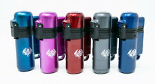 5 Count Wind Proof tORCH Lighters Adjustable Refillable Butane Outdoor