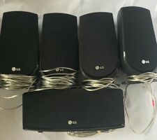 LG Home Cinema HT806 DVD Unit & 5 Speakers- No Remote