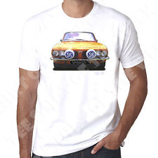 Triumph Dolomite Sprint 1971 mens   t shirt Personalised number plate available