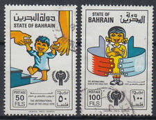 Bahrein 1977 mi.282/83 fine used Bambini Children [gb074]