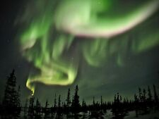 SPACE PHOTO NORTHERN LIGHTS AURORA BOREALIS LARGE WALL ART PRINT POSTER LF2342