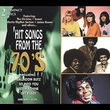 Hit Songs From the 70's CD 2 CD's James Brown Atlanta Rhythm Section and others