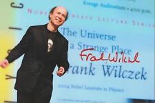 Frank Wilczek Signed 4x6 Photo Nobel Prize Winner