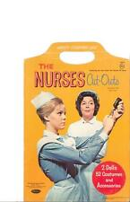 Vintage Uncut 1964 The Nurses Paper Dolls Hd~Laser Org Sz Reproduction~Lo Pr~H