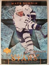2007-08 UPPER DECK ARTIFACTS MATS SUNDIN # 133 ,TORONTO !! BOX 7