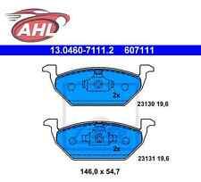 ATE 13.0460-7111.2 Bremsbelagsatz, Scheibenbremse Vorne VOLKSWAGEN GOLF BMW AUDI