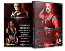 Queens of Combat 16 DVD-R, Su Yung Taeler Hendrix Rachel Ellering Shine NXT TNA