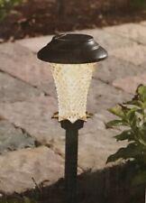 "Hampton Bay Solar ""Traditional Style"" LED Path Light Set - 6-Pack - Bronze - NEW"