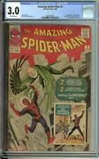 AMAZING SPIDER-MAN #2 CGC 3.0 OW PAGES