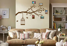 Giant Family Tree Wall Art Sticker, Vinyl Decal, Transfer, Add you pictures