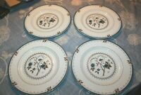 Lot of 4 ROYAL DOULTON  Old Colony Dinner Plates TC 1005