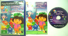 Dora The Explorer: Journey To The Purple Planet PlayStation 2 PS2 Game PAL AUS