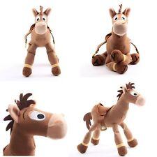 Toy Story Pixar Bullseye Plush Toys Soft Stuffed Red Heart Horse Kids Xmas Gifts