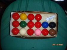 16 Palle da biliardo Pool Snooker stock mm 48 lotto