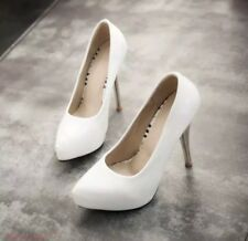 NEW Pointy Toe Women Stilettos High Heel Patent Leather Platform Pumps EUR 39