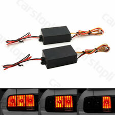 Pair 3-Step Sequential Flow Dynamic Flash Module for Car Turn Signal Light Lamp