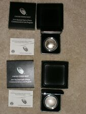 2014 BASEBALL HALL OF FAME SILVER DOLLAR-PROOF & UNCIRCULATED COINS