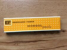 Vintage MONGOL 482 No 2 pencils Eberhard Faber unused with box Qty 12