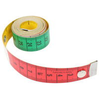 60in Button Tailor Measure Tape Sewing Tools Flat Tape 150CM Body Measuring RKCA