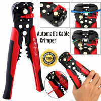 Self Adjustable Automatic Cable Wire Stripper Crimper Cutter Tool Plier Kit Set