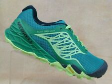 Merrell AllOut Terra Light Green Trail Hiking Shoes Vibram J35546 Women 9 EUR 40