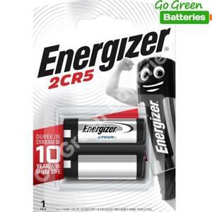 1 x Energizer 2CR5 6V Lithium Photo Battery DL245 245