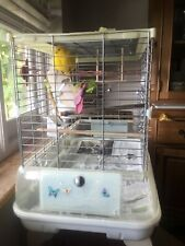Hagen Vision 2 Large Bird CAGE used+Extras Canary.feeders.Seed Ashford £131