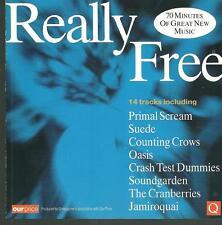 cd C9 various Q REALLY FREE ( Cranberries Suede Primal scream Oasis Soundgarden