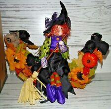 New Avon Convertible Lighted Wreath Halloween Battery Operated