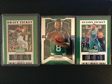Kemba Walker 2019-20 Panini Prizm & Contenders Holo Refractor Boston Celtics Lot
