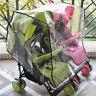 Universal Stroller Pram Rain Cover Twins Buggy Pushchair Transparent Wind Shield