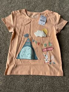 Next Peach Girls Festival Applique T-shirt 5-6 Years