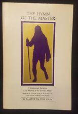 The Hymn of The Master A Confessional Recitation Master Da Free John