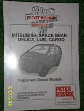 MITSUBISHI L400 SPACE GEAR DELICA CARGO with petrol or diesel engines MANUAL 95